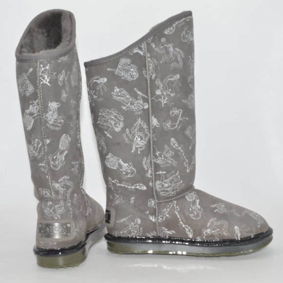 Australia Luxe Sheepskin Boot - Constellation Gray